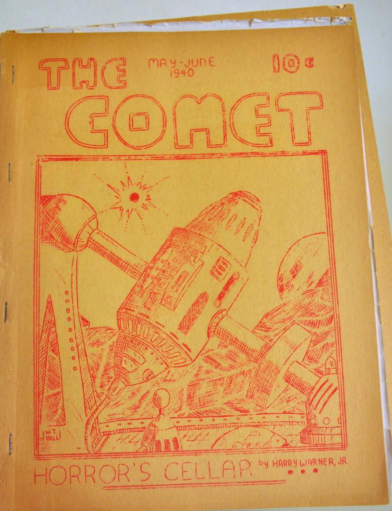 Historia del fanzine: 'The Comet'